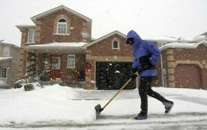 24/7 snow removal service