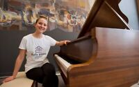 $23 Violin or Piano Lessons at Home with Anastasiia