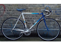 French vintage road bike MBK frame size 23inch - 12 speed serviced WARRANTY mint condition NEW TYRES