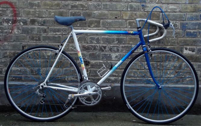 French vintage racing road bike MBK frame size 23inch - 12 speed serviced WARRANTY mint condition