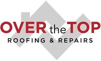 FREE ESTIMATE! Over The Top   Roofing & Repairs - Roof / Roofer