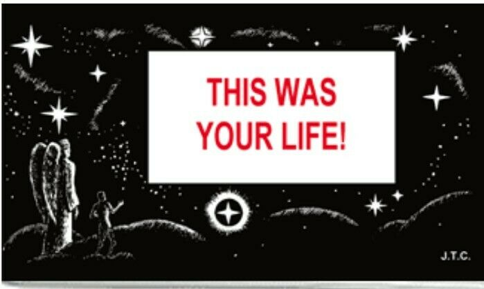 THIS WAS YOUR LIFE! | CHICK BIBLE TRACT | JACK T. CHICK | 2002 | PACK OF 25