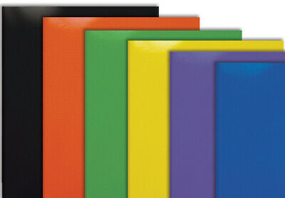 10 Pk 2 Pocket Poly Plastic Folders Mix Color School Office Supplies Home School