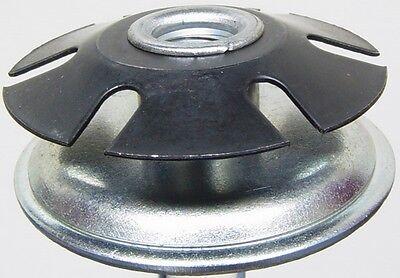"""Oajen metal threaded star type insert, 1-1/4"""" OD round tube,"""