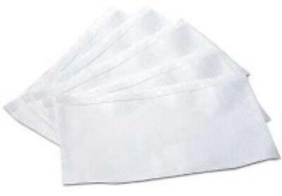 100x A7 PLAIN Documents Enclosed Plastic Postage Bags Labels