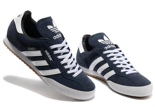 ?????? Adidas Originals Mens Samba Super Suede Size 7 12 ??
