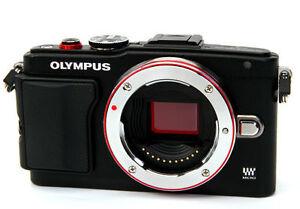 Olympus Lite E-PL6 PEN mirrorless digital SLR camera *black *new *warranty