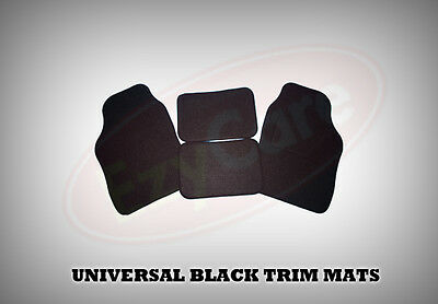 KIA ALL MODELS UNIVERSAL Car Floor Mats Black  BLACK