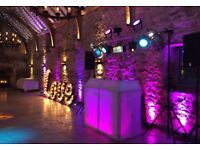 PROFESSIONAL MOBILE DJ - WEDDINGS, BIRTHDAYS, KIDS PARTIES - TOP OF THE RANGE LIGHTING & SOUND *