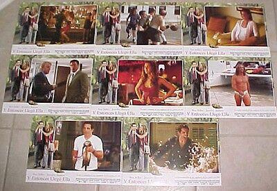 Jennifer Aniston Ben Stiller Spanish lobby card set 8 Along Came Polly