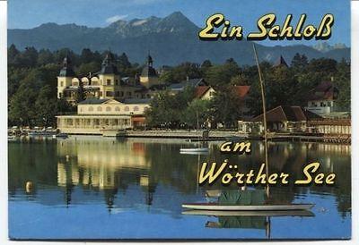 Alte Postkarte - Ein Schloß am Wörther See