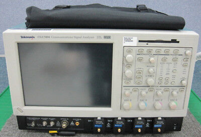 Tektronixcsa7404 4.0 Ghz 4ch Digital Phosphor Scope Opt.std