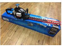 This Mac Allister EasyCut MHTP24 24.5cc petrol hedge trimmer