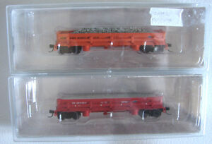 RARE MOW Maintenance Of Way N Scale Rolling Stock Railway Cars