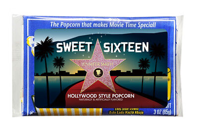 8 Hollywood Red Carpet Birthday Party Favors Personalized 3x5