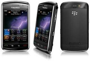 BLACKBERRY STORM 9530 DEBLOQUÉ UNLOCKED FIDO ROGERS CHATR CUBA GSM CELLULAIRE BLUETOOTH TOUCHSCREEN CAMERA BLACKBERRY OS