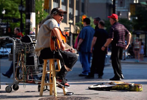 Busker available 9055228540
