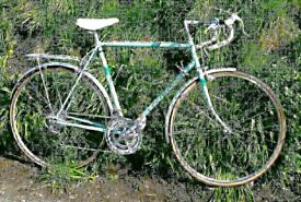 9ae6824cd59 Rare 1980s Triumph vintage racing bike
