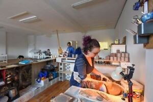 Shared Art Studio Space for Artists