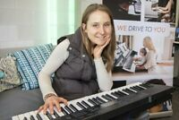 $21 At Your Home Piano Class, Goals Each Week, Custom Learning