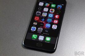 Iphone 7 Brand new in Jet Black 256 gb