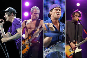 RED HOT CHILI PEPPERS - LOWER LEVEL SEATS - CTC - JUNE 23