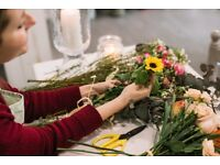 Florist business for sale, flowers, self employed, business partner, franchise, work from home