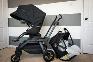 Orbit Baby G3 Stroller with Double Helix and Infant Car Seat