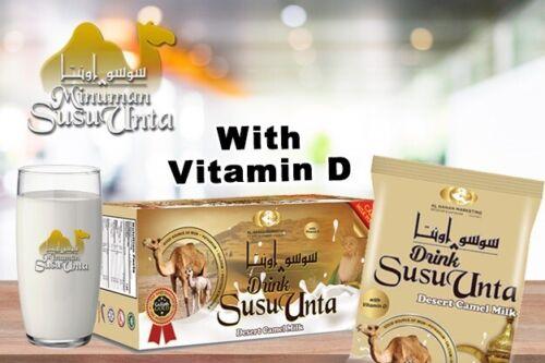 "Camel Milk Powder WITH ""VITAMIN D"" SUSU UNTA(1box)500gm=17.64Oz Halal (20's)"