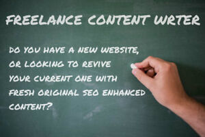 Freelance Content Writer. Website Content, Blogs, SEO And More