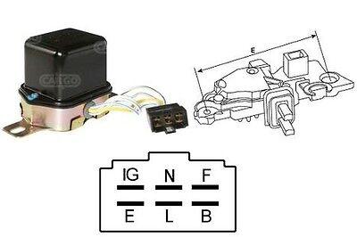 12v alternator voltage regulator denso honda mitsubishi suzuki toyota 134858 ebay. Black Bedroom Furniture Sets. Home Design Ideas
