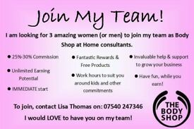 Immediate start: body shop at home consultant