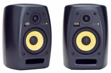 KRK VXT 6 - High-end precision powered studio monitors (pair)