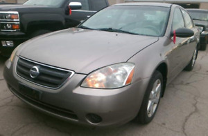 2004 Nissan Altima 2.5s E-Test Included Mature Owner Clean