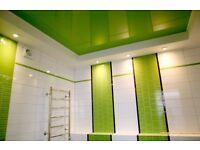 Decorative stretch ceilings