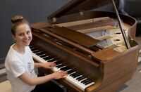 Piano Class At Home in Waterloo, Tracked Success Agenda, $23