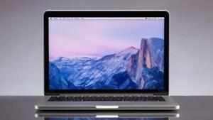 MACBOOK PRO RETINA 13 2016 i5 2.7ghz 8GB 256GB, Mc OFFICE PRO 2016,LOGIC PRO X,MASTER SUITE ADOBE