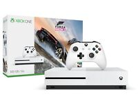 Xbox One S Console with original box and headset