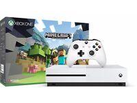Xbox one s with kinect sensor like new
