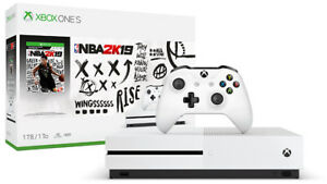Microsoft Xbox One S NBA 2K19 1TB Bundle with One Year Warranty