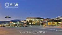 Kelowna international airport  pick up & drop off service $60.