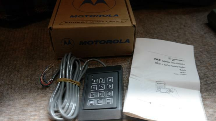 Motorola ARK-501++/10723k01 Black Intelligent Access Control proximity Reader