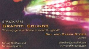 Graffiti Sounds DJ Service Sarnia Sarnia Area image 3