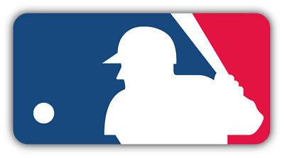 MLB Baseball Logo Car Bumper Sticker Decal - 3'', 5'', 6'' or 8'' Baseball Car Decals