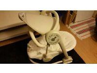 Baby bouncer swing with free playmat