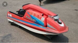 If you have a stand up jet ski text me at  2269325090
