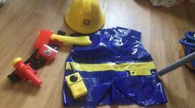 Fireman Sam dress up