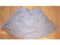 Topshop Skirt Size 8