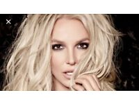 Britney Spears tickets x 2. Less than value. O2 Sunday 26th Aug