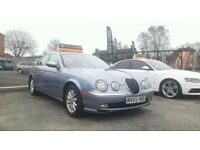 2002 JAGUAR S TYPE V6 SE++AUTOMATIC++ONLY 84000 MILES++FULL SERVICE HISTORY++12 MONTH M.O.T++
